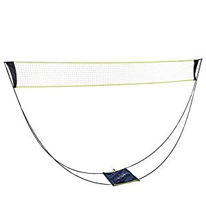 Portable Removable Volleyball Badminton Net Set With Stand Carrying Bag for Indoor Outdoor Sport