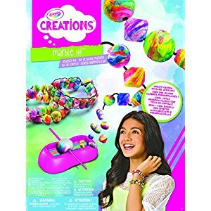 Crayola Creations Marble It Jewelry Kit