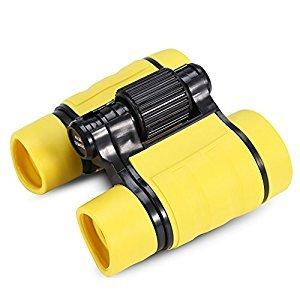 Binoculars Kids Toy Telescope Christmas Promotional Gifts Outdoor Sightseeing, Bird Watching Telescope(Yellow)
