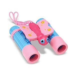 Melissa & Doug Sunny Patch Bixie Butterfly Toy Binoculars for Kids