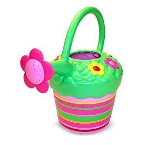 Melissa & Doug Sunny Patch Blossom Bright Flower Watering Can - Gardening Tool for Kids
