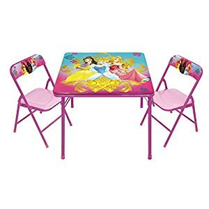 Disney Princess Keys to The Kingdom Activity Table Set