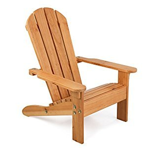 KidKraft 83 Adirondack Chair, Honey
