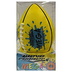 Flash Sale Wave Runner Mega Football Water Bouncer Skipping Ball, Yellow