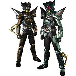 Bandai Tamashii Nations SIC Kamen Rider Punch and Kick Hopper Action Figure