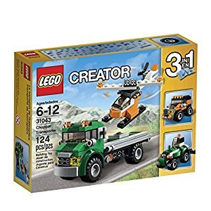 LEGO Creator Chopper Transporter Kit (124 Piece)