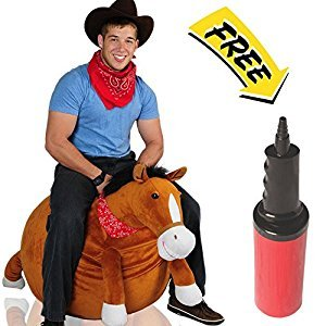 Mr Jones: Adult Size Plush Horse Hop Ball Hopper