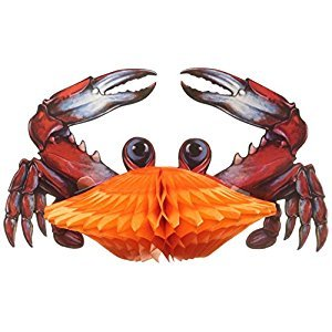 Beistle 55520 Tissue Crab, 11-Inch