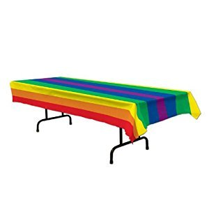 Beistle Rainbow Table Cover