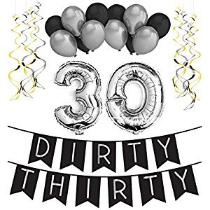 Dirty Thirty Black Silver Pack
