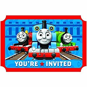 Thomas & Friends Thomas The Tank Invitations Party Accessory