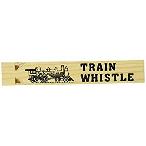 Fun Express Wooden Train Whistles - 12 Pieces