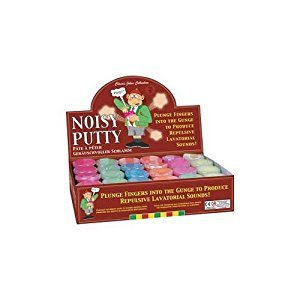 Funny Rude Noise Putty Tub by Tobar