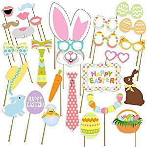 [USA-SALES] Easter Photo Props, Good Friday Decorations , NO DIY Required, Attached to the Sticks, by USA-SALES Seller