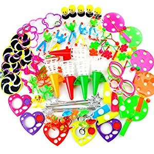 Amy&Benton Kids Birthday Party Favor Toy Assortment Classroom Prizes Pinata Filler 80 PCS