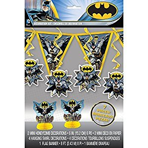 Batman Party Decoration Kit, 7pc