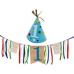First Birthday Boy Party Pack