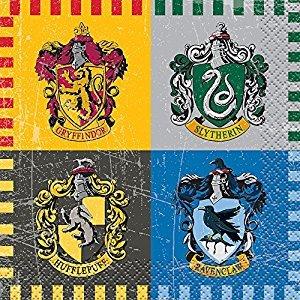 Harry Potter Beverage Napkins, 16ct