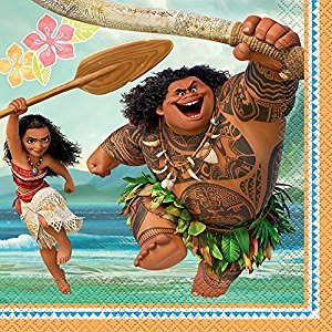 Moana Party Napkins, 16ct