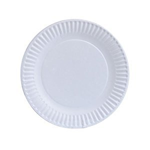 Nicole Home Collection 100-Count Everyday Dinnerware Paper Plate, 6-Inch, White