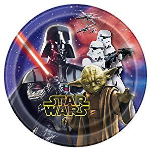 Star Wars Dessert Plates, 8ct