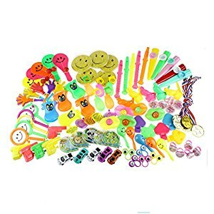100PCS Toy Assortments for Kids Party Favors Supplies Girl Boy Birthday Gift Bags Pinata Fillers Children Carnival Prizes School Reward