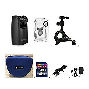 Brinno Construction Time Lapse Camera PRO Bundle BCC200 + Smartec Camera Bag + 16GB SD + USB Data Cable + Wall Power Supply