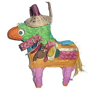 Fetch-It Pets Don the Donkey Polly Wanna Pinata Bird Toy