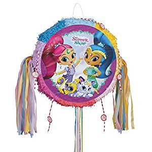Shimmer and Shine Pinata, Pull String
