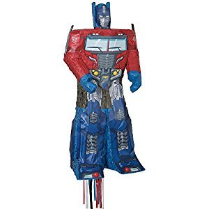 Unique Optimus Prime Transformers Pinata, Pull String