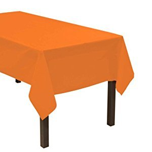 Party Essentials Heavy Duty Plastic Table Cover, 54 x 108