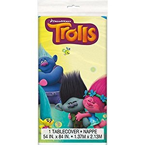 Trolls Plastic Tablecloth, 84