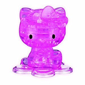 BePuzzled Licensed 3D Puzzle-Hello Kitty Pink