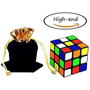 Magic Speed Cube Mystery Gift-The Best Brain Training Game 3x3 Sticker Smooth Puzzle Twist Super Durable Structure and Vivid Colors Gift Puzzles Toy