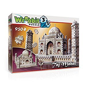 Taj Mahal 950 Piece 3D Jigsaw Puzzle Made by Wrebbit Puzzles Inc.