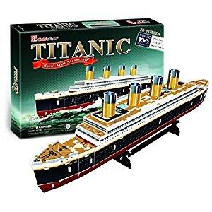 Titanic, 35 Piece 3D Jigsaw Puzzle Made by CubicFin 3D Puzzle