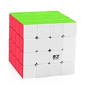 D-FantiX Qiyuan S 4x4 Speed Cube Stickerless Magic Cube 4x4x4 Puzzle Toys