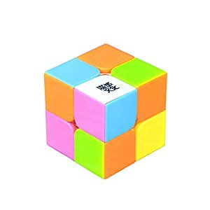 Yongjun Plastic Candy Colorful 2x2x2 Speed Puzzle Cube
