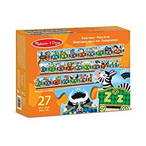 Melissa & Doug Alphabet Express Jumbo Jigsaw Floor Puzzle (27 pcs, 3 meters long)