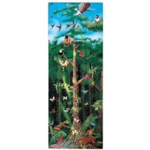 Melissa & Doug Rainforest Jumbo Jigsaw Floor Puzzle (100 pcs, over 1 meter tall)