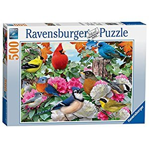 Ravensburger Garden Birds - 500 pc Puzzle