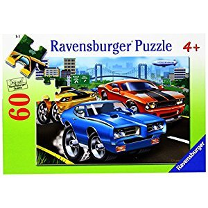 Ravensburger Muscle Cars - 60 pc Puzzle