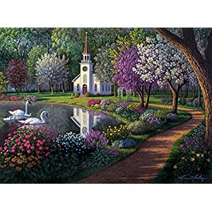 Buffalo Games Kim Norlien Sanctuary, 1000-Piece Jigsaw Puzzle