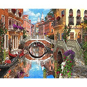 Venetian Waterway Jigsaw Puzzle 1000 Piece
