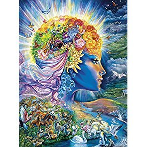 Buffalo Games 11735-Josephine Wall-The Presence Of Gaia-Glitter Edition-1000 Piece Jigsaw Puzzle