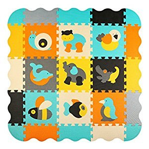 Foam Puzzle Play Mat Baby Floor Mats for Kids Room Interlocking Tiles Children Playmat Toddler Infant Crawling Mat meiqicool 014B