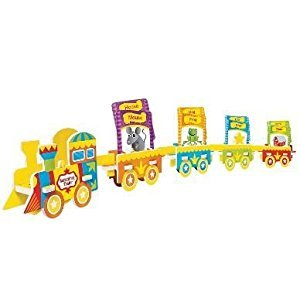Mindware Matching Train - Train Puzzle & Rhymes Card Pack by MindWare