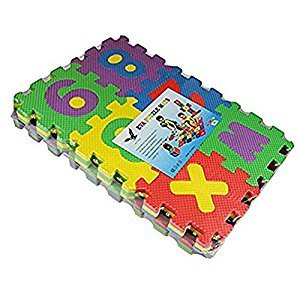 Play Mat Educational Products - Alphabet Letters Foam Play Mat - Children will enjoy playing and learning at the same time with these foam puzzle pieces!