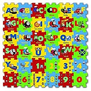 Thomas & Friends ABC-123 Foam Cube Puzzle (36 Piece)