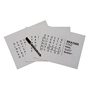 Word Search Grab & Go - Level 1 (Easy) Puzzle for Dementia and Alzheimer's by Keeping Busy for Older Adults